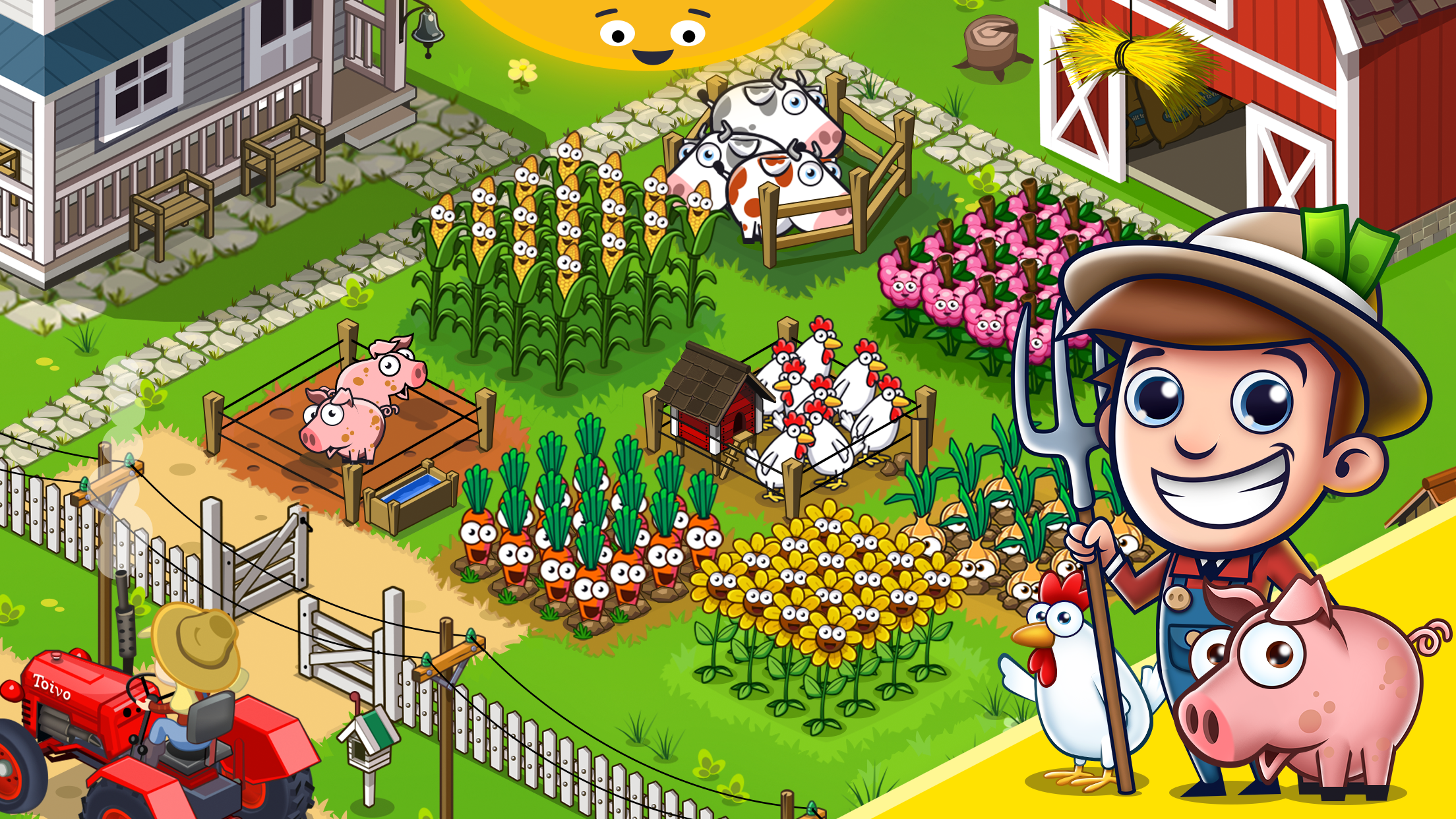 Idle Farming Empire (MOD, Unlimited Coins) 3