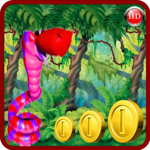 Red Bouncing snake adventures