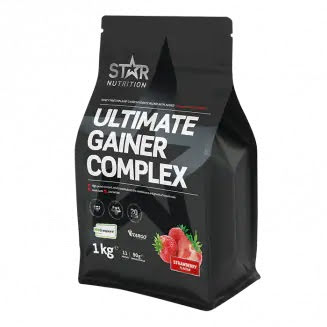 Ultimate Gainer Complex 1kg - Strawberry