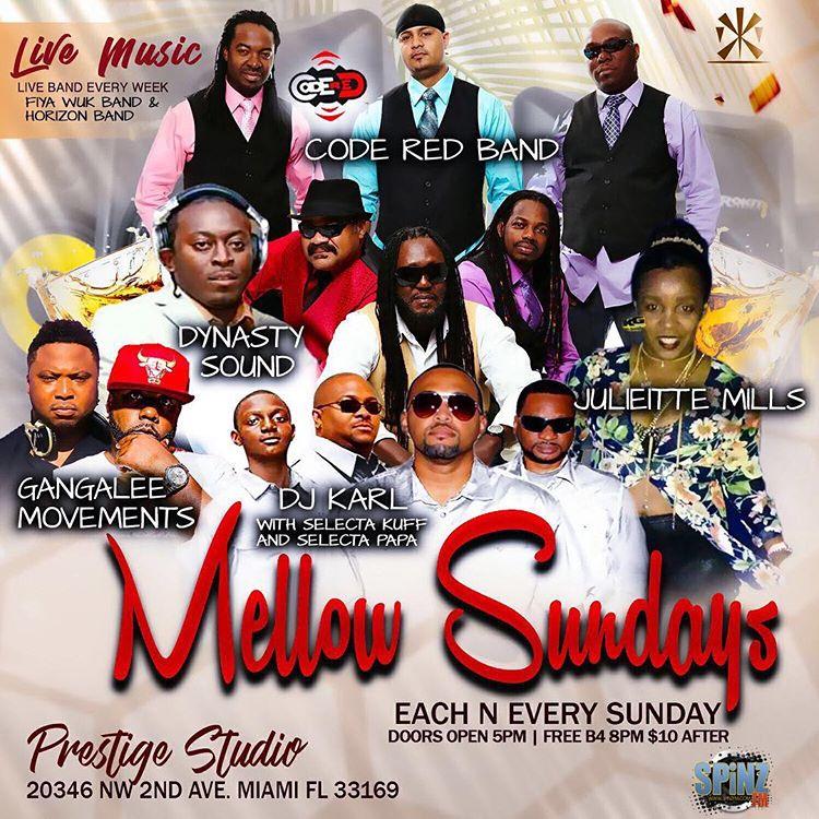Mellow Sundays Prestige Studio Miami