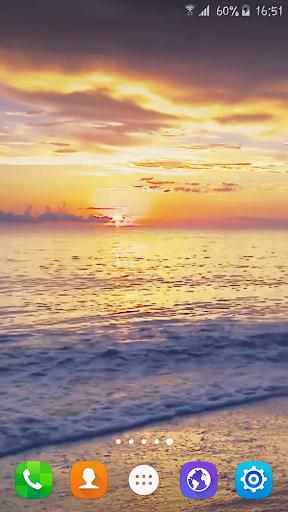 Sunset Beach Live Wallpaper|玩個人化App免費|玩APPs