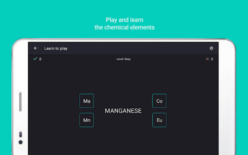 Periodic table Tamode Pro Screenshot