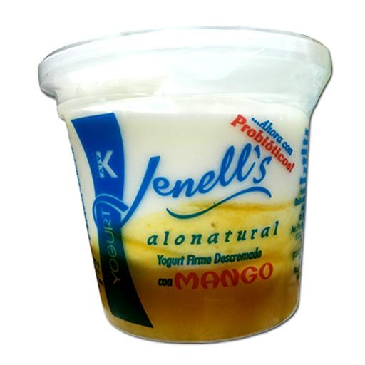 yogurt jennell's firme descremado mango 180gr