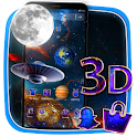 3D Galaxy Parallax Theme icon