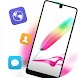 Colorful feather pen theme for Galaxy J7 Max