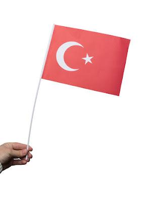 Pappersflagga, Turkiet