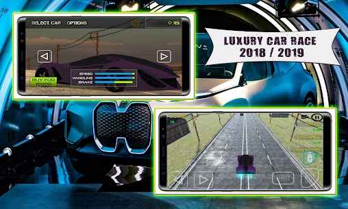Luxury Car Game : Endless Traffic Race Game 3D 2