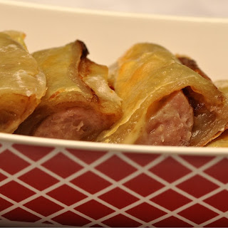 Apple Butter and Turkey Sausage Rolls