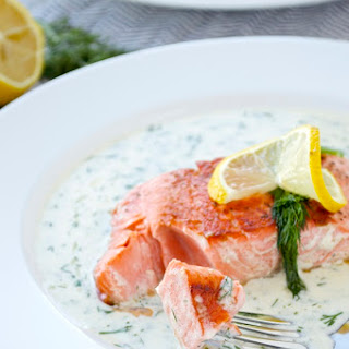 Lemon Dill Salmon.