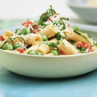 Pea and Egg Pasta