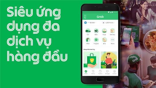 Grab – Ứng dụng đặt xe hơi riêng, xe máy và taxi 1