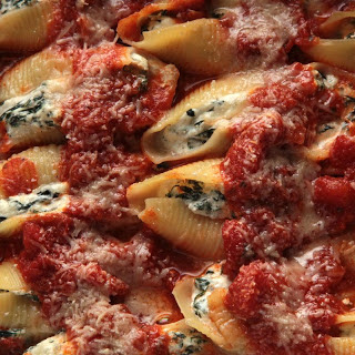 Swiss Chard Stuffed Shells