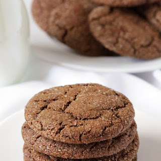 Molasses Cookies (gluten-free, 100% whole wheat, dairy-free options)