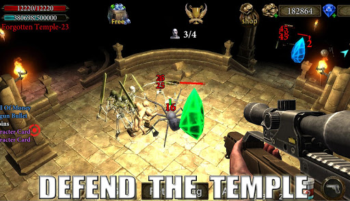 Dungeon Shooter : The Forgotten Temple apkdebit screenshots 6