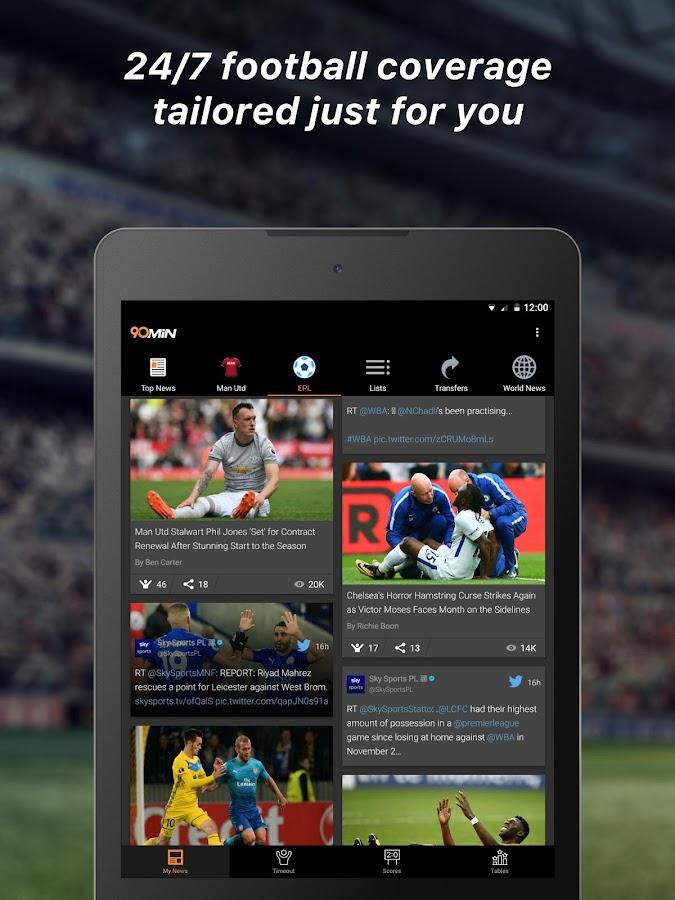 Soccer dating app