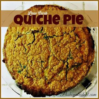 My Low Carb Quiche Pie