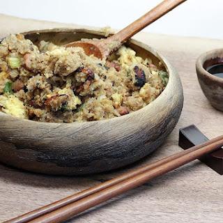 Low Carb Cauliflower Fried Rice.