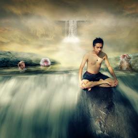 修炼 by Chua Chung nam - Digital Art People