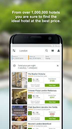 trivago: Hotels & Travel app (apk) free download for Android/PC/Windows screenshot