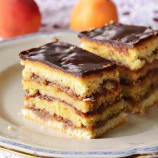 Hungarian Zserbó (Gerbeaud Cake)