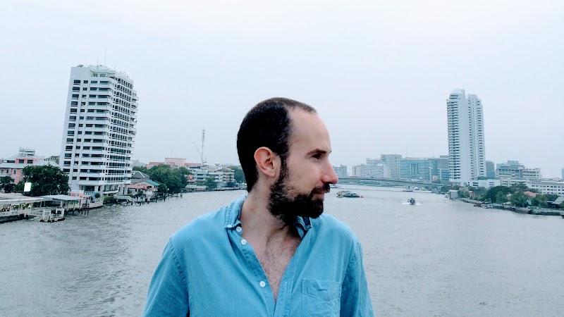 Erik Martín. Creador de Nomoresheet. Bangkok.