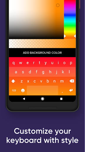 Fleksy- Emoji & gif keyboard app (FULL) poster