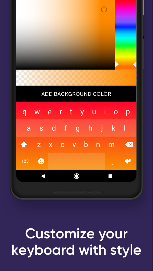 Fleksy- Emoji & gif keyboard app Screenshot