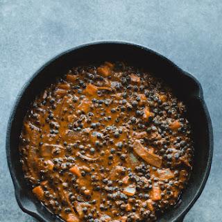 Coconut Lentil Curry.