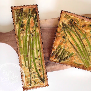 Asparagus And Spinach Quiche With Spelt Crust (dairy-free Option).