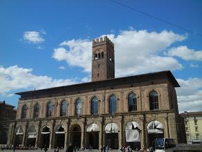 Photo: Medieval building on Piazza Maggiore, Bologna