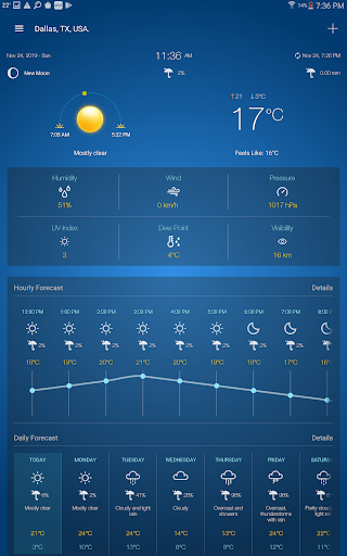 Weather Advanced for Android 1.0.4.6 Screenshots 10