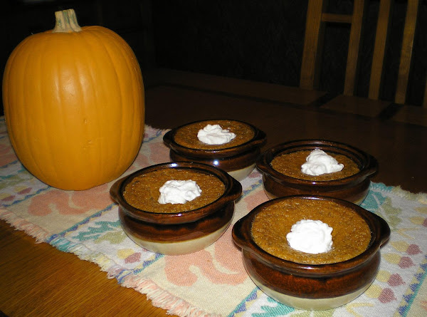 Pumpkin Pudding Recipe