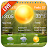 Weather App with Local Weather Forecast Icône