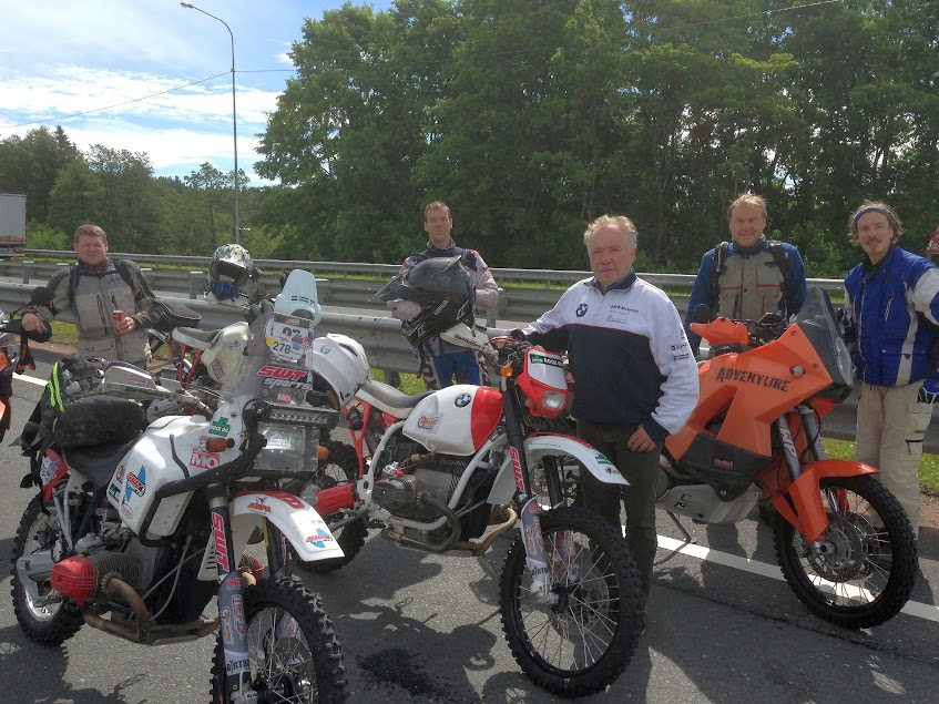 SWT-SPORTS 57 an der Grenze Russland - Finnland