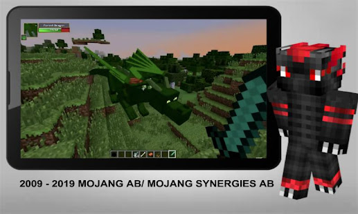Dragon Mount Addon for MCPE - náhled