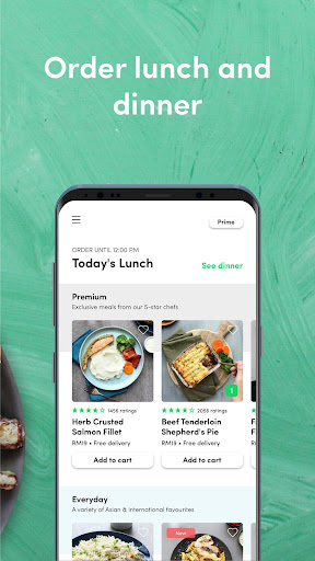 dahmakan - food delivery app 44.1.2 screenshots 2