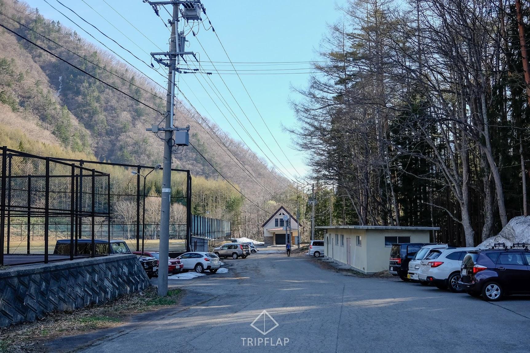 会津駒ヶ岳冬季駐車場
