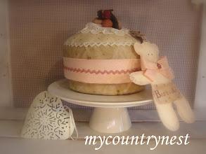 Photo: torta aperta alla fragola