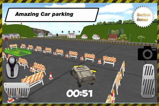 軍事車のトレーニング