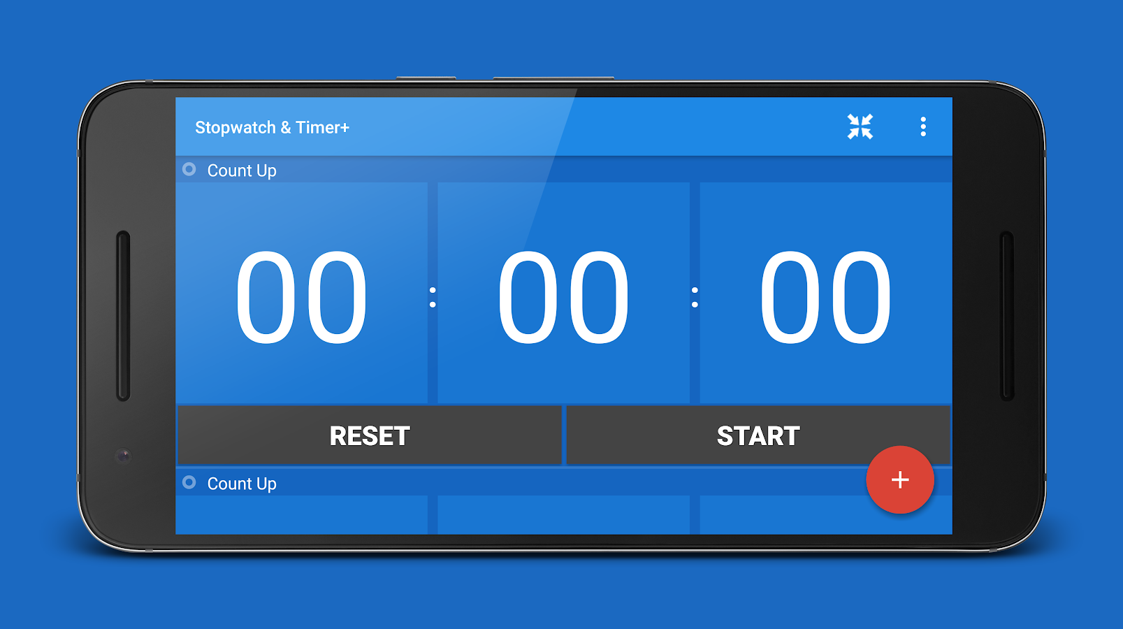 Stopwatch & Timer+- screenshot