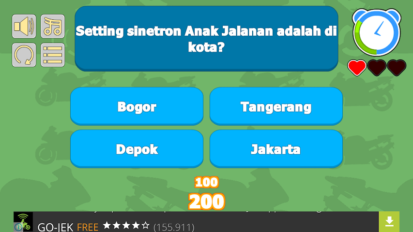 android Quiz Anak Jalanan Screenshot 2