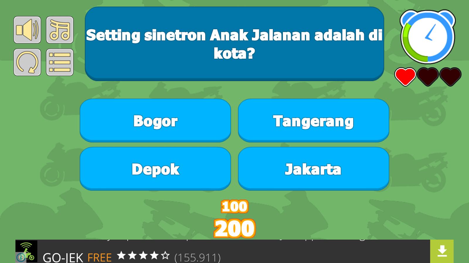 Quiz Anak Jalanan Apl Android Di Google Play