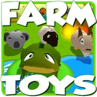 Mega Toys Farm Animals 3D Jumping Game - náhled