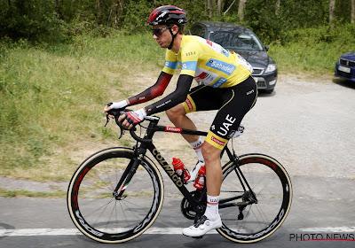 """Brandon McNulty begint als leider aan de laatste etappe in de Ronde van het Baskenland: """"We zitten in een sterke positie"""""""