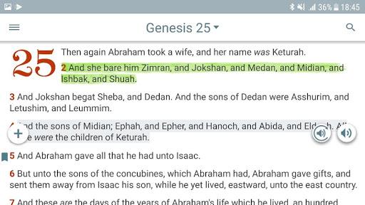 Bible KJV with Apocrypha, Enoch, Jasher, Jubilees 5.7.1 screenshots 7