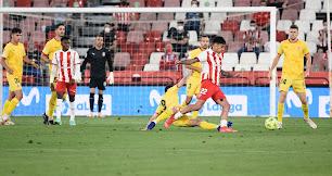 El Almería disputó su último partido el 5 de junio.
