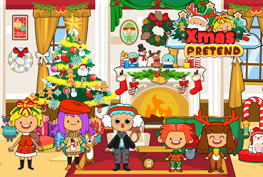 My Pretend Christmas - Kids Holiday Party FREE 1.2 screenshots 2