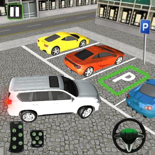Luxury Prado Parking Car Driving Simulator