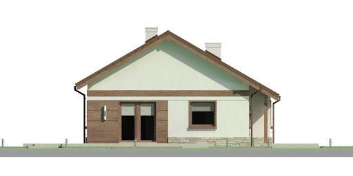 Dom przy Przyjemnej 14 bis - Elewacja lewa