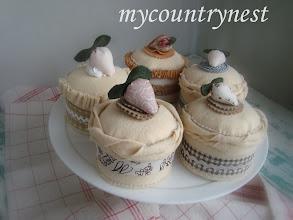 Photo: dolcetti di feltro alla vaniglia, decorativi